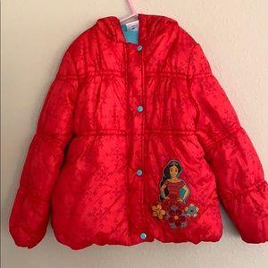 Princess Elena of Avalor puffer jacket
